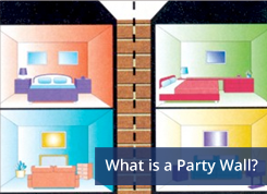 what is a party wall